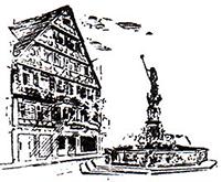 Logo der Dr. Linz'sche Apotheke am Marktbrunnen