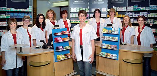 Team der Eifel-Apotheke