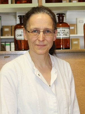 Porträtfoto von Frau Frangen