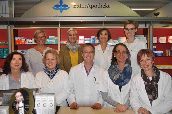 Team der Exter-Apotheke