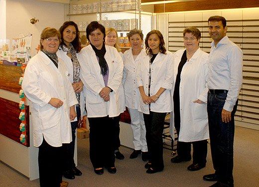 Team der Falkenstein-Apotheke