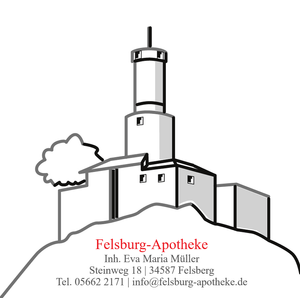 Logo der Felsburg-Apotheke