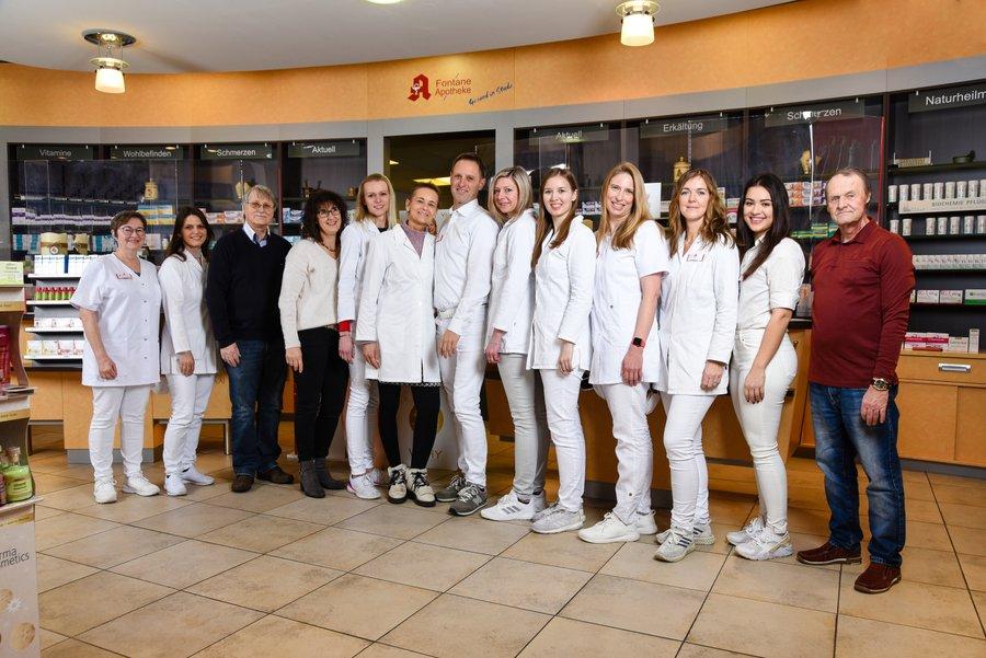Team der Fontane-Apotheke