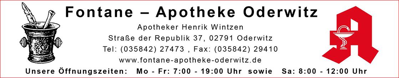 Logo der Fontane-Apotheke Oderwitz