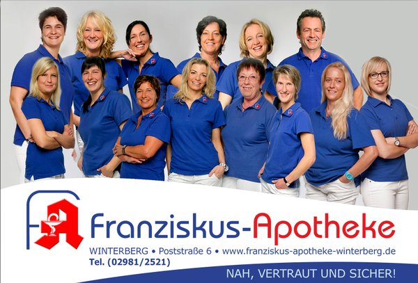 Team der Franziskus-Apotheke