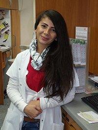 Porträtfoto von Frau Dilekci