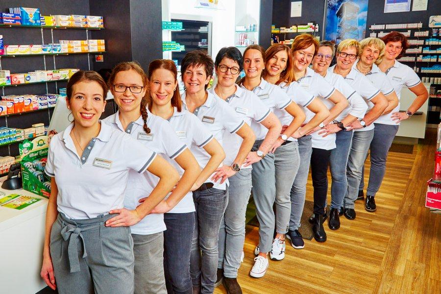 Team der Gertruden-Apotheke