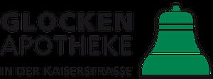 Logo der Glocken-Apotheke in der Kaiserstraße