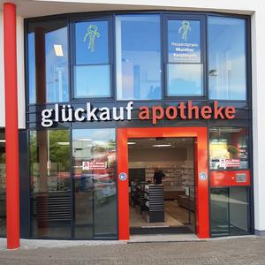 Logo der glückauf apotheke