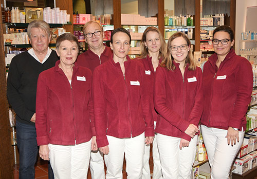 Team der Grapengießer-Apotheke