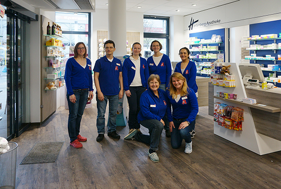Team der Hartenberg-Apotheke