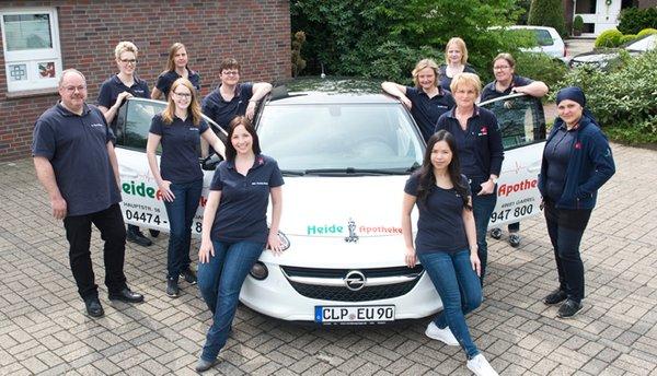 Team der Heide-Apotheke