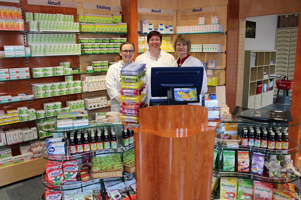 Team der Hirsch-Apotheke Heidenau
