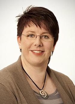 Porträtfoto von Frau Ulbrich