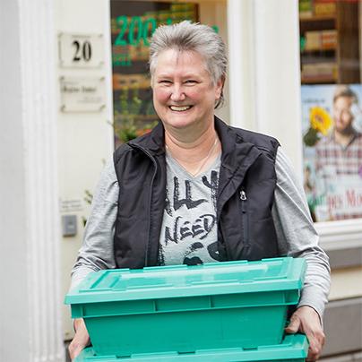 Porträtfoto von Harmine Müller