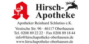 Logo der Hirsch-Apotheke Oberhausen