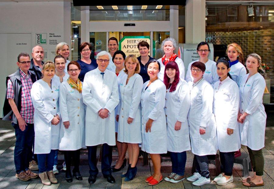 Team der Hirsch-Apotheke OHG