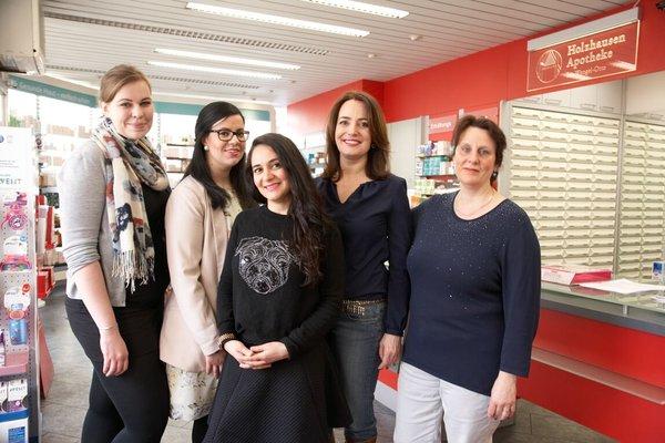 Team der Holzhausen Apotheke