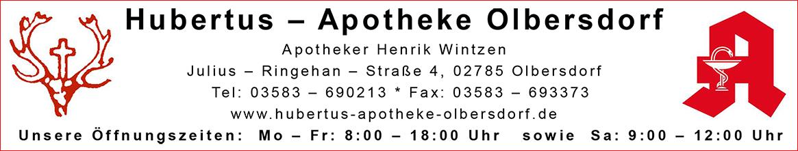 Logo der Hubertus-Apotheke Olbersdorf