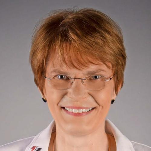 Porträtfoto von Frau Crantz