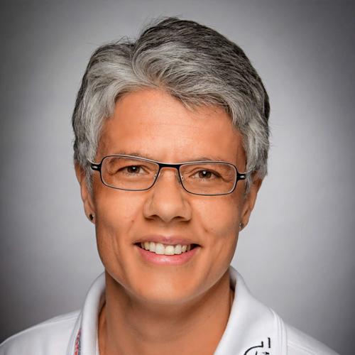 Porträtfoto von Frau Delseith