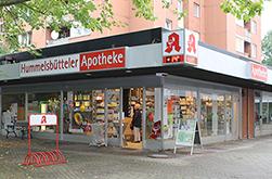 Logo der Hummelsbütteler Apotheke