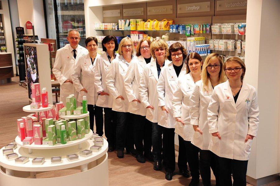Team der Johannes-Apotheke Apothekenbetriebs-OHG Hanke
