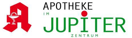 Logo der Apotheke im Jupiterzentrum