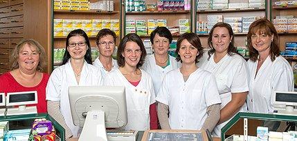 Team der Katharina-Apotheke