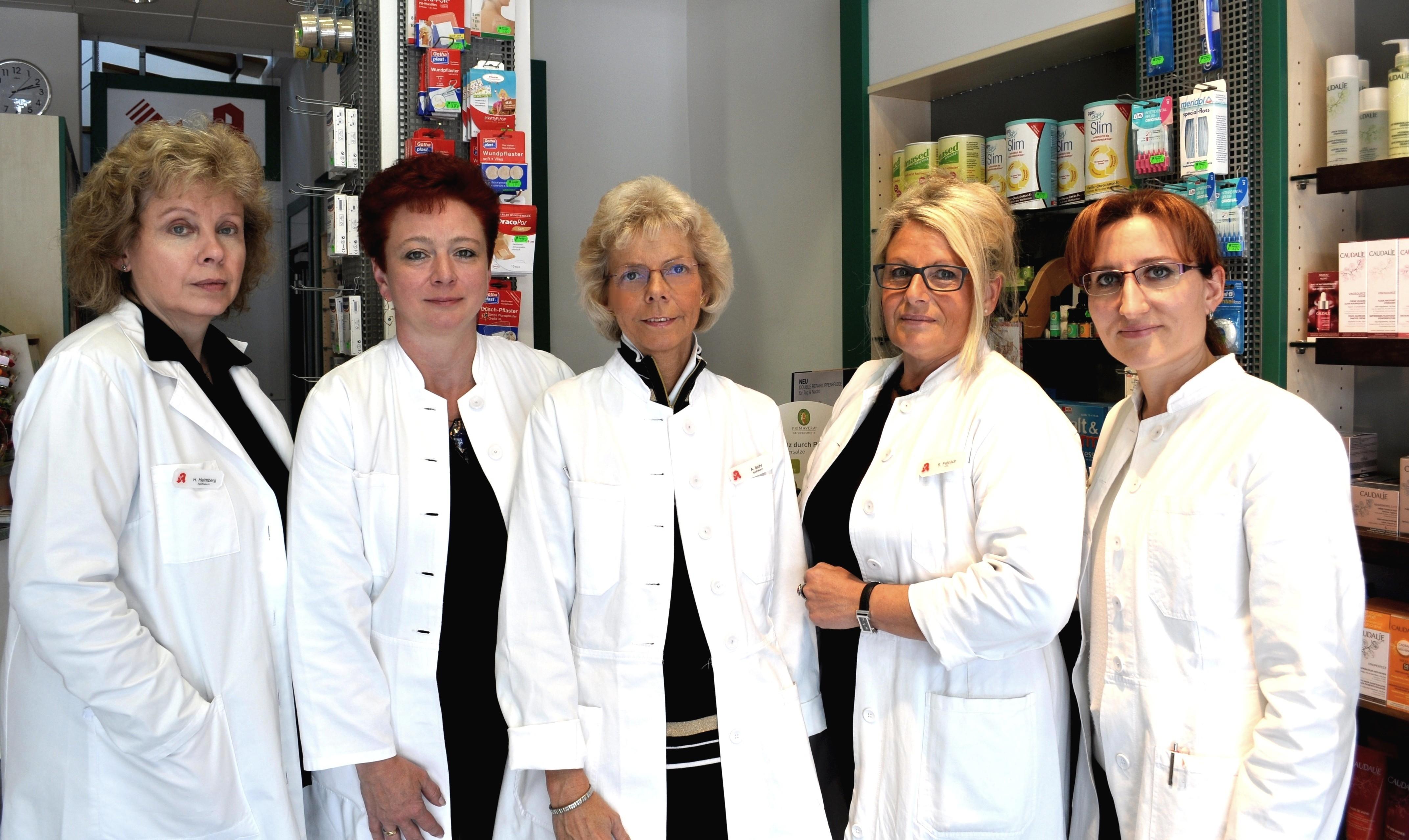 Team der Kleefelder-Apotheke