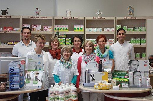 Team der Kohlschütter-Apotheke
