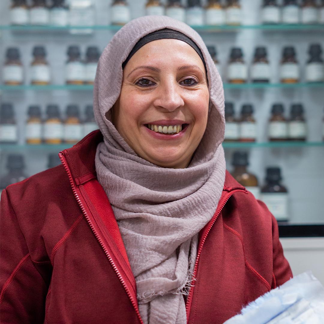Porträtfoto von Emine Baris