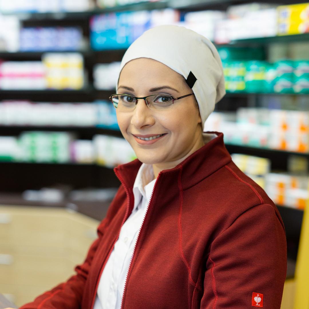 Porträtfoto von Ruweida Khasawneh