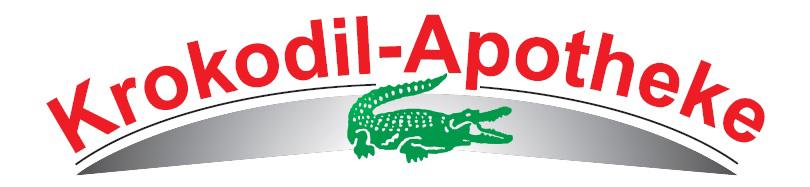 Logo der Krokodil-Apotheke