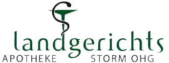 Logo der Landgerichts-Apotheke Storm OHG