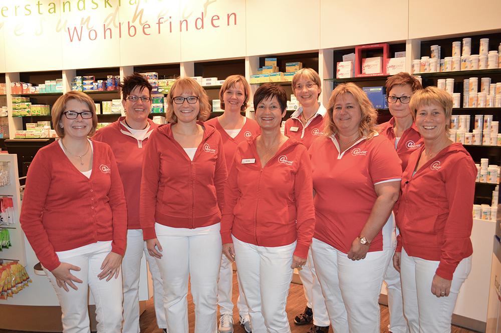 Team der apo-rot Linden Apotheke