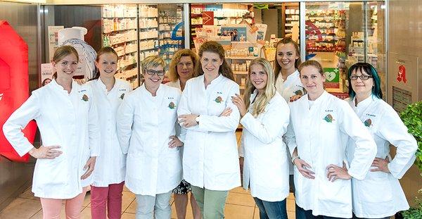 Team der Lindenthal-Apotheke