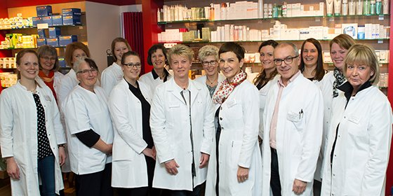 Team der Löns-Apotheke
