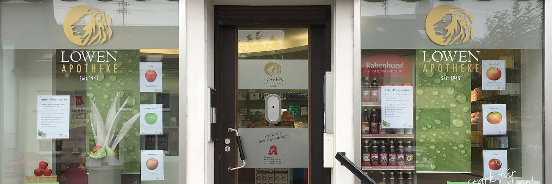 Herzlich willkommen in unserer Apotheke!