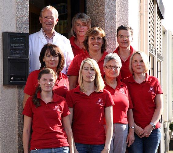 Team der Apothekenbetriebs OHG Löwen-Apotheke