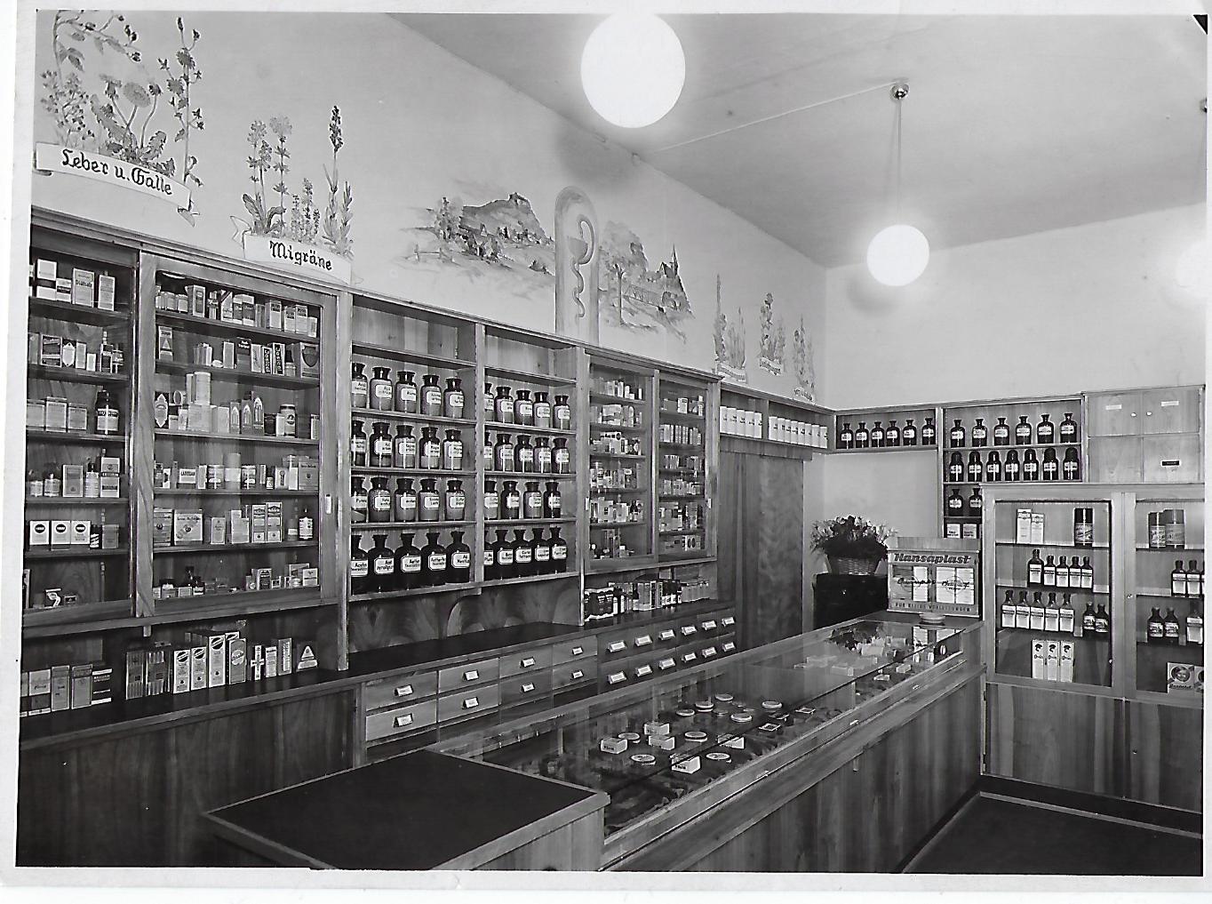 Die Apotheke 1950
