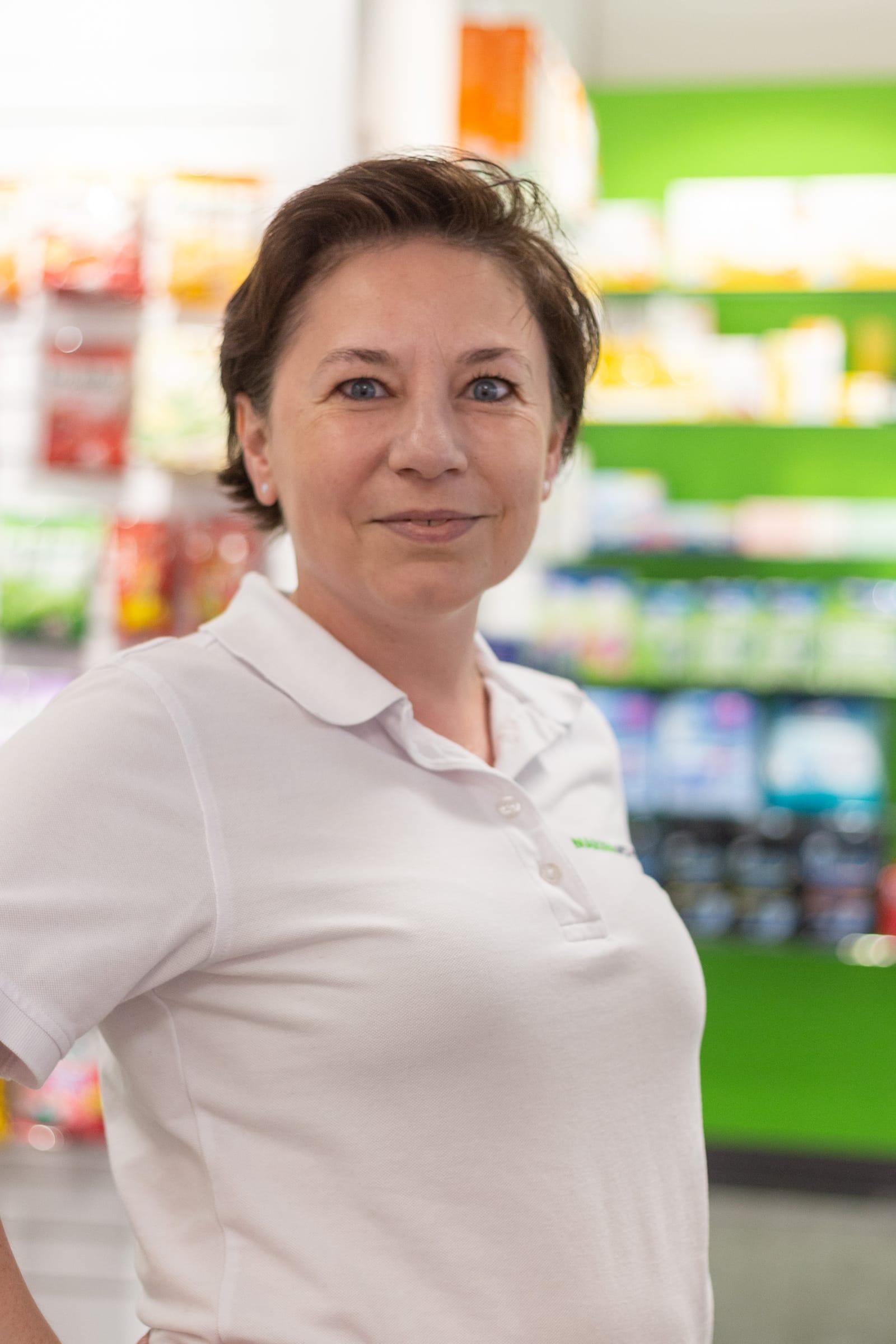 Porträtfoto von Frau Hausknecht