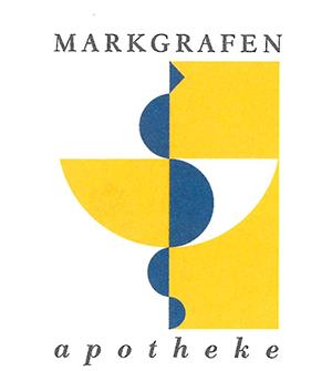 Logo der Markgrafen-Apotheke Schwetzingen