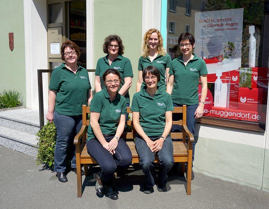 Team der Markt-Apotheke Muggendorf OHG
