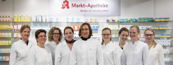 Team der Markt-Apotheke-Eidelstedt