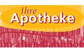Logo der Apotheke im alten Bahnhof