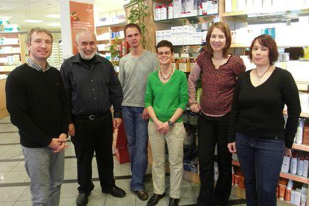 Team der Apotheke am Koppenplatz