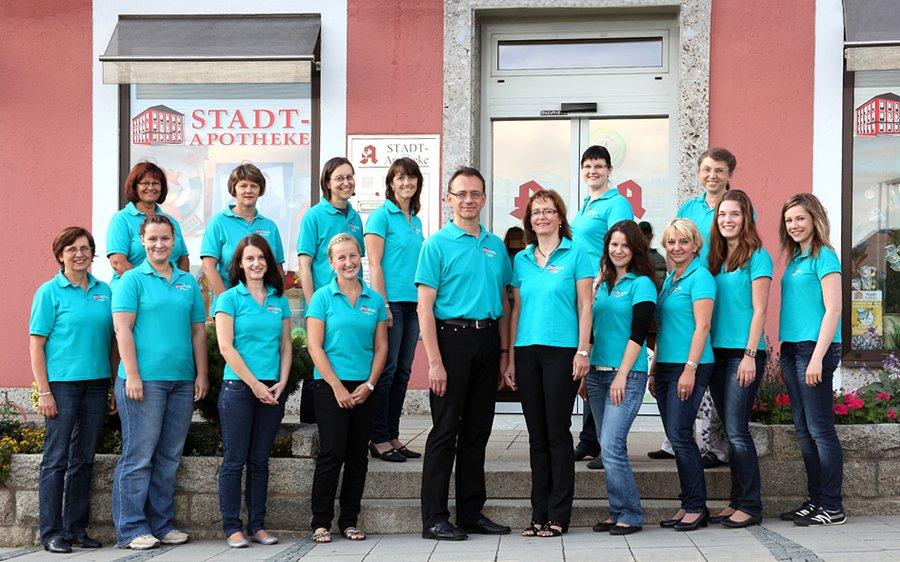 Team der Stadt-Apotheke