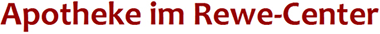 Logo der Apotheke im Rewe-Center
