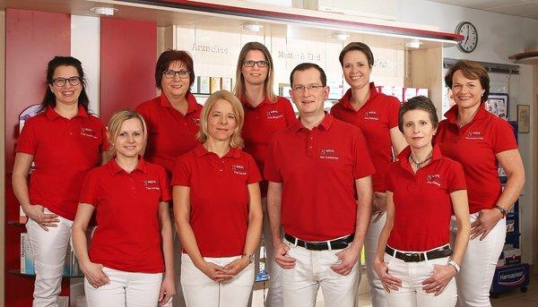 Team der Wiehl-Apotheke